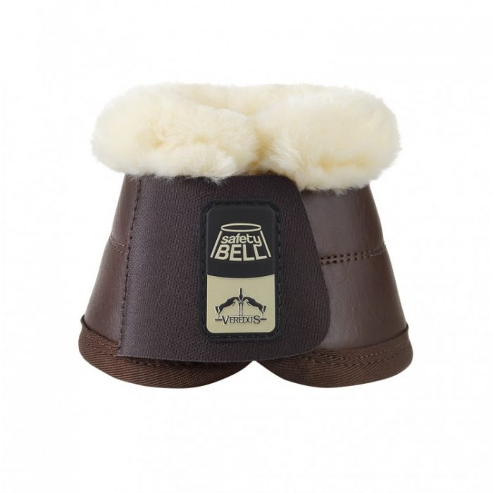 Veredus Safety Bell Boot Save The Sheep Black