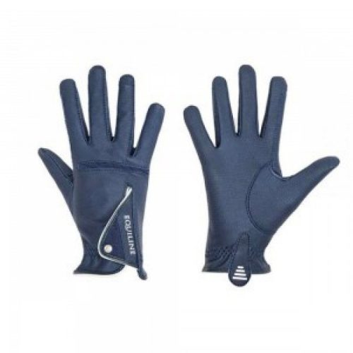Equiline X-Glove Unisex Riding Gloves Navy/White