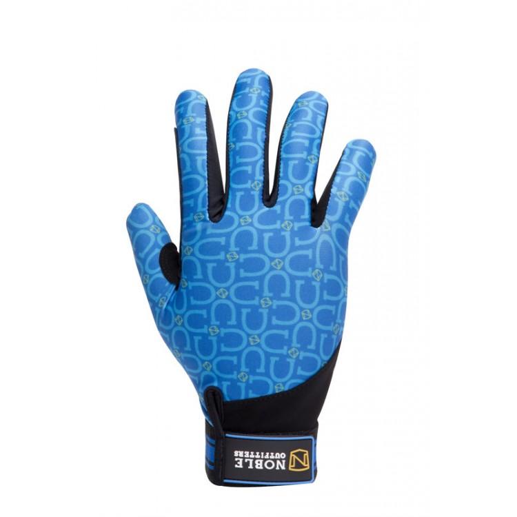 Noble Perfect Fit Glove Tahoe Blue Horseshoe
