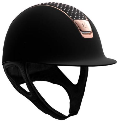 https://www.westleighssaddlery.co.uk/product/shadowmatt-rose-chrome-trim-blazon-with-sparkling-top/